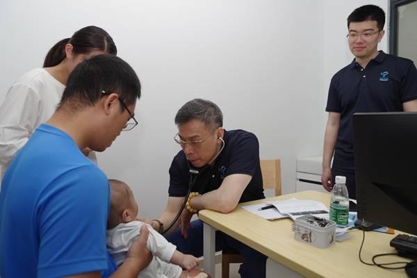 三亚市妇幼保健院携手上海医疗机构免费诊疗先天性心脏病患儿