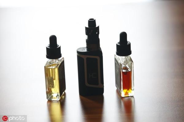 市场上有各式电子烟产物 @IC Photo