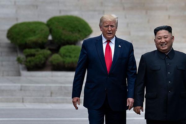 韩媒:金正恩8月曾写信邀请特朗普访问平壤