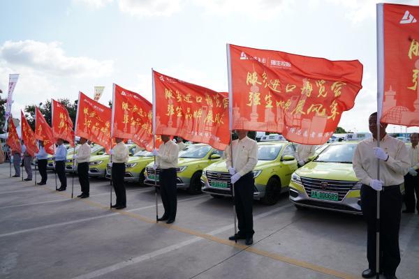 上海投千辆新能源出租服务进博会:绿色车身,可续航四百公里