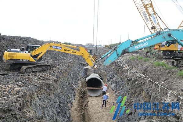 兴化建设供水备用水源   保障市民安全饮用水