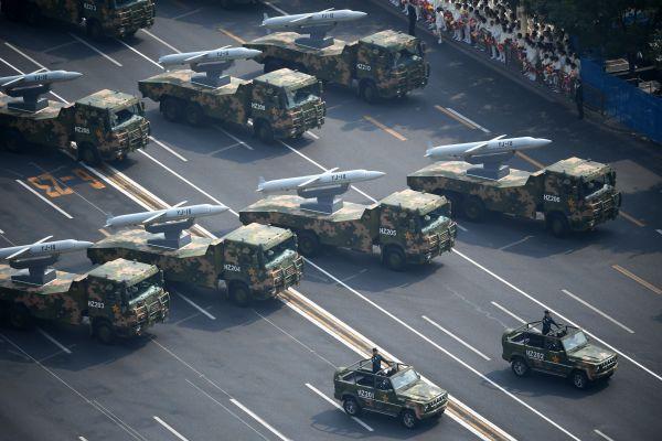 日媒:国庆阅兵折射中国军事改革取得进展