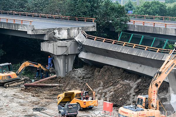 中设股份:无锡侧翻高架桥设计符