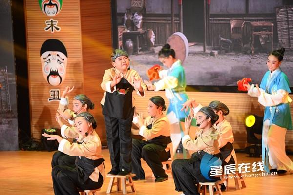校园戏曲文化浏阳展演 听小戏骨们的艺术情怀