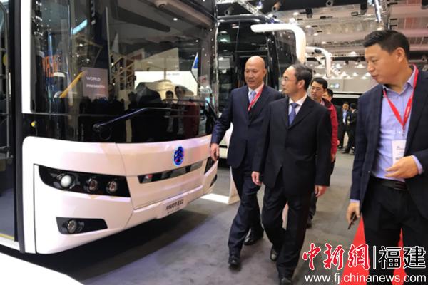 金旅客车携四款产品亮相世界客车博览会 展现中国智造