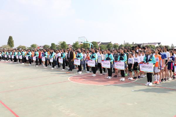 2019年如皋市中小学生跳绳比赛白蒲小学开赛