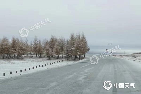 今日降温范围达鼎盛 中东部有大范围雨雪|内蒙古|青海