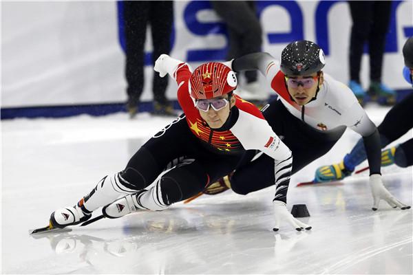 短道速滑世界杯上海站下月举行  家门口看顶级冰雪赛事