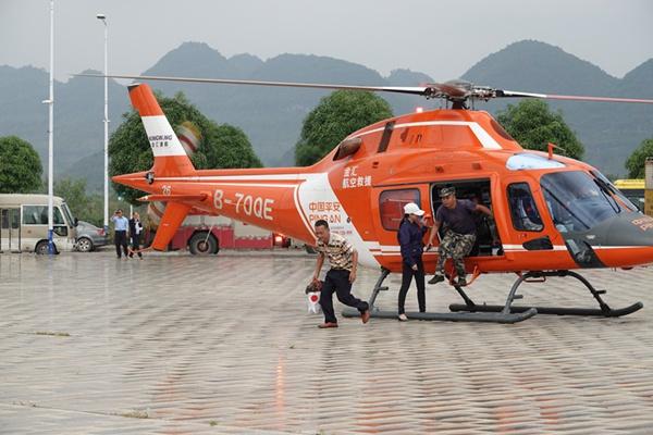 全区防御洪涝灾害应急救援演练在我市举行