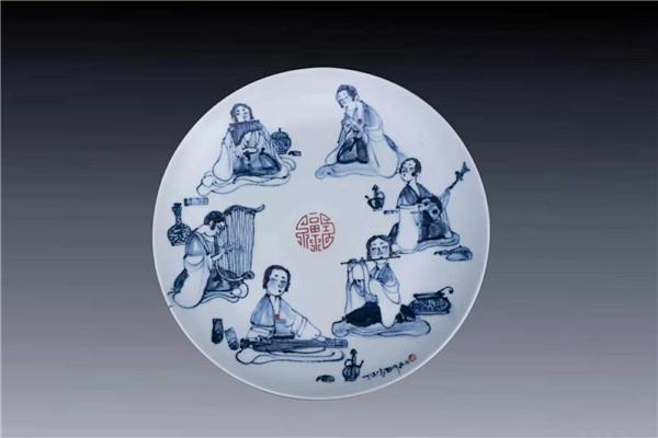 """海派画家能否掌握""""新语言""""? 海派陶瓷艺术家作品交流展举行"""