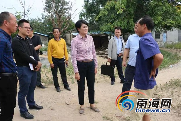共青团海南省委赴儋州红洋村开展定点帮扶