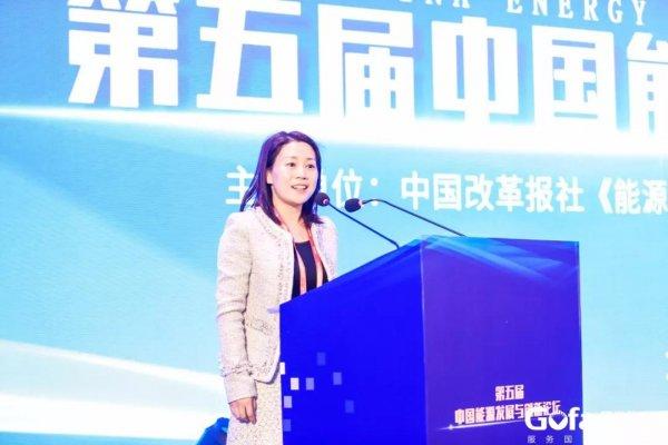 中国石化邢璐:可再生能源成本下降 驱动氢能发展