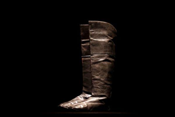 參與本次拍賣的拿破崙靴子(路透社)