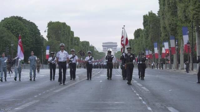 日本自卫队受邀参加法国国庆阅兵 已抵巴黎进行彩排