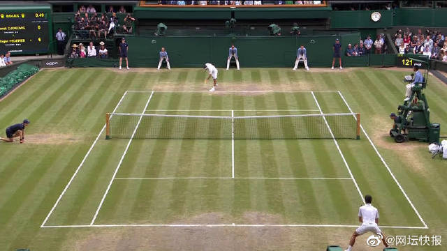 詹俊网球经典解说:巨头球手有隐形档位,关键时刻能把能量推到极限