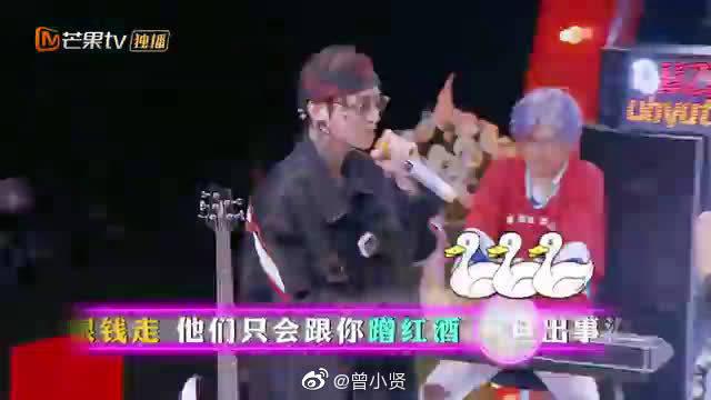 白敬亭:我有一个rapper梦!现场与王嘉尔对打超燃的