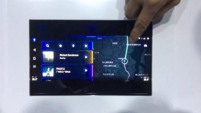 广汽新能源 AION LX 的中控系统提前看,Adigo 3