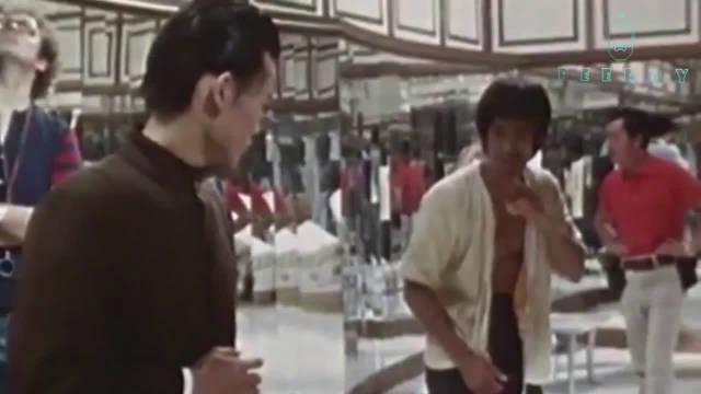 珍贵录像:李小龙和林正英片场切磋!