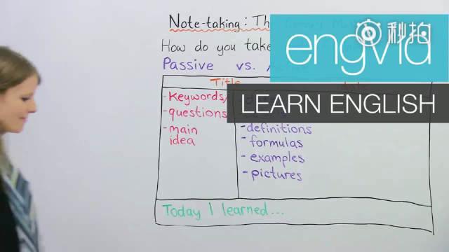 康奈尔笔记法——最有效的记笔记大法