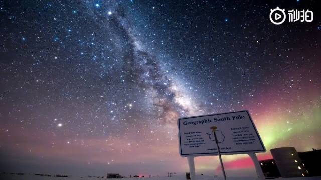 Timestorm Films团队在零下70度的南极洲