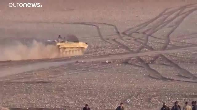 叙利亚政府军炸土耳其军车队