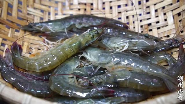 虾仁炒冬瓜,低脂肪的潮汕家常菜,做法简单,美味又营养