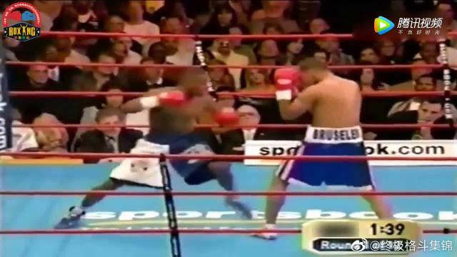 梅威瑟潇洒KO对手,获第三个级别世界拳王挑战权!