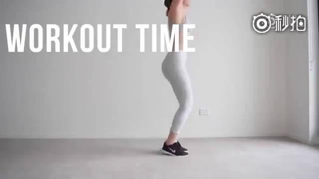 健身视频  臀腿燃脂训练