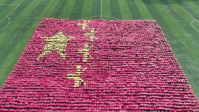 贵州师范大学新生军训于昨天完美落幕,短短半个月,流过汗