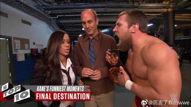 盘点WWE凯恩的十大卖萌瞬间:见过红色巨魔玩抓娃娃机吗?