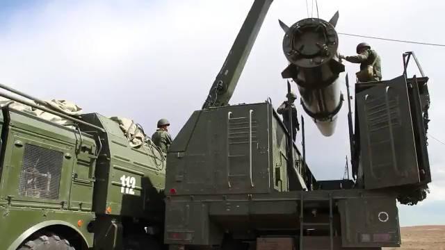 """俄罗斯导弹旅进行了""""伊斯坎德尔-m""""战役战术导弹发射演练"""