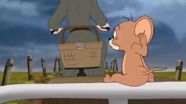 这次汤姆猫和小老鼠合作从巫婆手里救出小狗。。