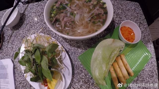 勇记越南河粉店,牛肉嫩、河粉滑