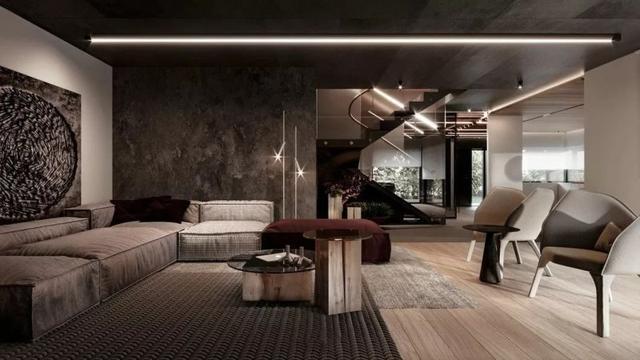 210平米三居室装修案例,装修价格只花210000万元!-中国铁建西派国樾装修