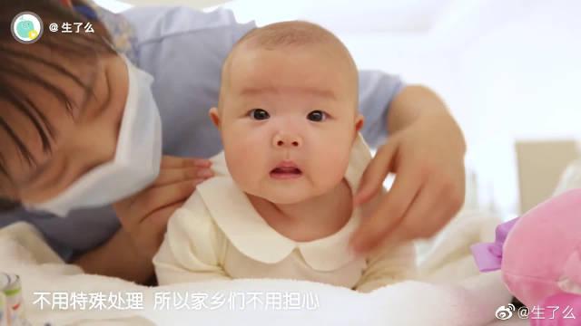 宝宝出生后,在鼻尖及鼻翼两侧出现的针尖大小