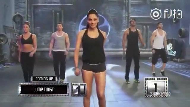 印度一个很火的减脂操,跳12分钟等于运动一小时