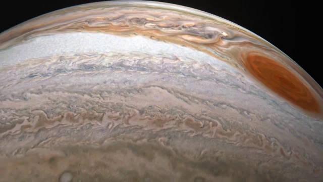 大赞!这是朱诺号第21次近距离的飞越木星,这一次将颠覆你的想象