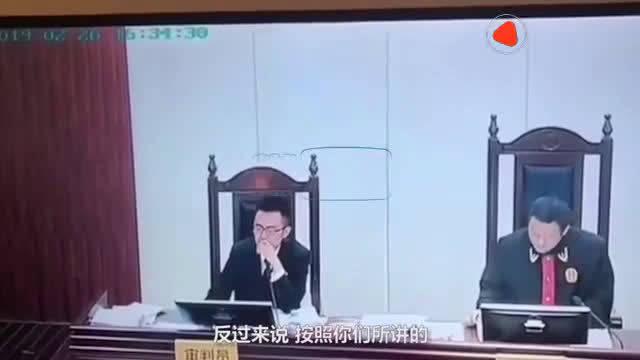 良心法官 审判长法庭上怒斥当地政府漠视开发商强拆