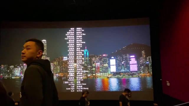 网友吐槽:通州万达广场影城电影没有结束就开灯