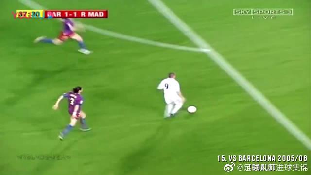 足球记忆 外星人罗纳尔多15个疯狂的超级进球