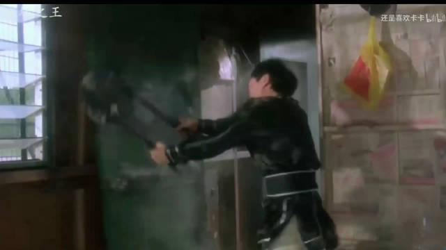 《破坏之王》周星驰与吴孟达经典对骂电影片段,他们两个人真的默