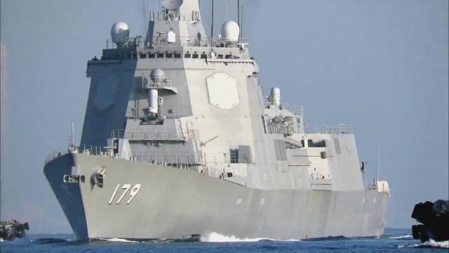 日本海上自卫队·导弹驱逐舰 ' 摩耶  ' 结束第9次海上测试