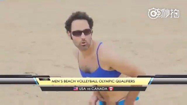 比基尼沙滩排球[doge]知道你们好这口