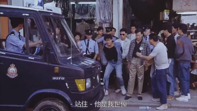 一部无法超越的港片,结尾刘德华死的时候,吴倩莲还在拼命找他,