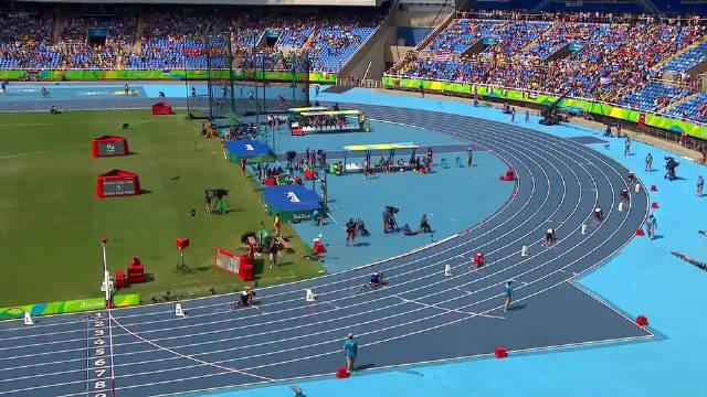 里约奥运会男子4×100米预赛-哈布尔Hohhot
