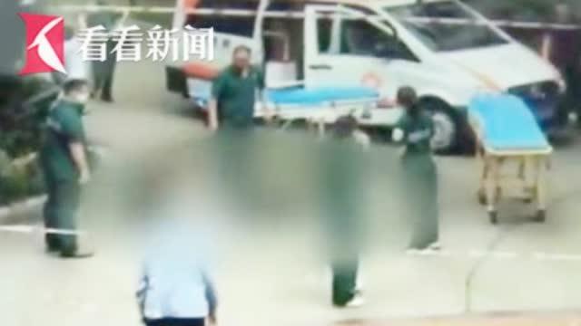 揪心监控曝光!男子跳楼轻生砸中2名路人 致1名儿童当场身亡