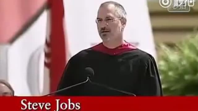 乔布斯在斯坦福大学毕业典礼上的演讲:《保持饥饿,保持愚蠢》
