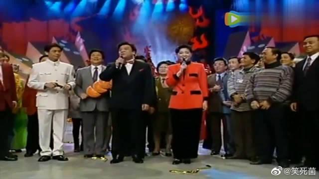 经典回顾:1997年春晚开场,倪萍和赵忠祥黄金搭档!