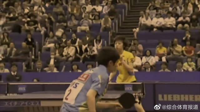 乒乓球绝对的女王——张怡宁精彩击球集锦