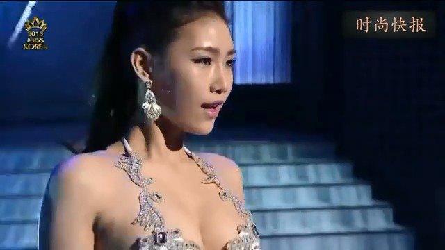 韩国大学生超模选秀大赛,每个选手都是如此高挑靓丽